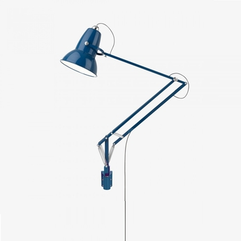 applique murale d 39 ext rieur original 1227 giant bleu h141cm anglepoise luminaires nedgis. Black Bedroom Furniture Sets. Home Design Ideas