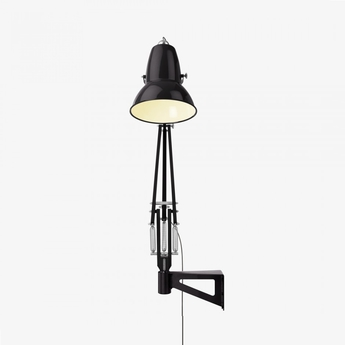 Applique murale d exterieur original 1227 giant noir brillant h141cm anglepoise normal