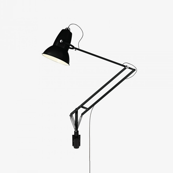 Applique murale d exterieur original 1227 giant noir satin h141cm anglepoise normal