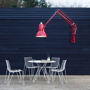 Applique murale d exterieur original 1227 giant rouge h141cm anglepoise normal