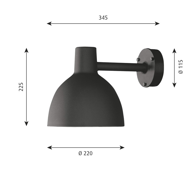 Toldbod 220 290 louis poulsen applique murale d exterieur outdoor wall light  louis poulsen 5743160749  design signed nedgis 82022 product