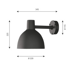 Toldbod 220 290 louis poulsen applique murale d exterieur outdoor wall light  louis poulsen 5743160749  design signed nedgis 82022 thumb