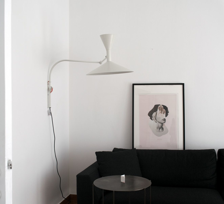 De marseille charles le corbusier applique murale wall light  nemo lighting ldm eww 31  design signed 58032 product