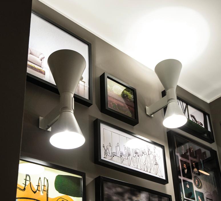 De marseille charles le corbusier applique murale wall light  nemo lighting adm eww 31  design signed 57872 product