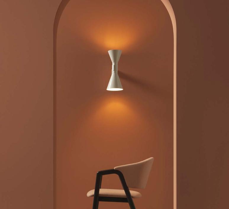 De marseille charles le corbusier applique murale wall light  nemo lighting adm eww 31  design signed 59924 product