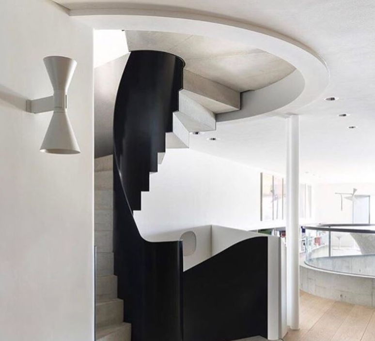 De marseille charles le corbusier applique murale wall light  nemo lighting adm eww 31  design signed 61485 product