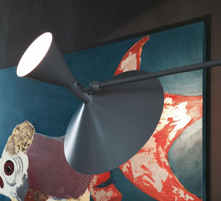 De marseille charles le corbusier applique murale wall light  nemo lighting ldm edd 31  design signed 58042 product