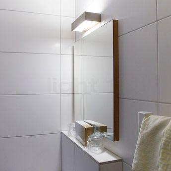 Applique murale de salle de bain box 15 n chrome led l15cm h5cm decor walther normal
