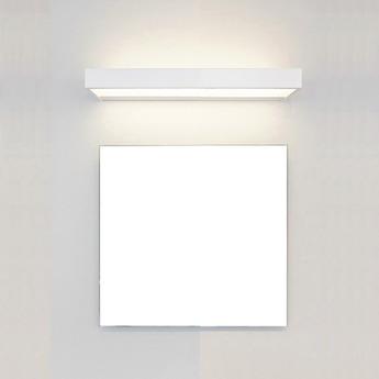 Applique murale de salle de bain, Box 40 N, blanc, LED, L40cm, H5cm ...