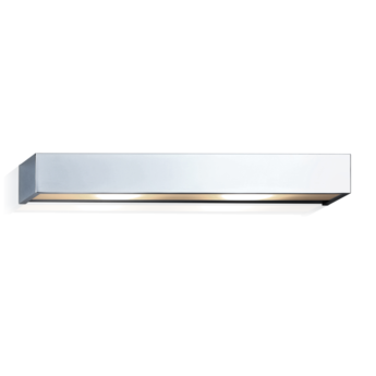 Applique murale de salle de bain box 40 n chrome led l40cm h5cm decor walther normal