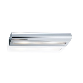 Applique murale de salle de bain curve 40 chrome led l40cm h5cm decor walther normal