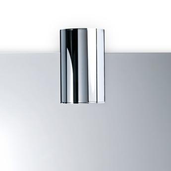 Applique murale de salle de bain flow chrome led o7cm h10cm decor walther normal