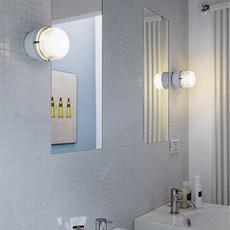 Fresnel joe colombo applique murale de salle de bain wall light bathroom  oluce 1148 l blanc  design signed nedgis 67808 thumb