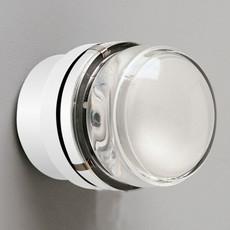 Fresnel joe colombo applique murale de salle de bain wall light bathroom  oluce 1148 l blanc  design signed nedgis 67810 thumb
