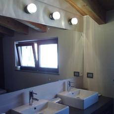 Fresnel joe colombo applique murale de salle de bain wall light bathroom  oluce 1148 l noir  design signed nedgis 67864 thumb