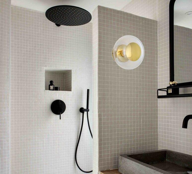 Horizon susanne nielsen applique murale de salle de bain wall light bathroom  ebb flow la101770cw ip44  design signed nedgis 91493 product