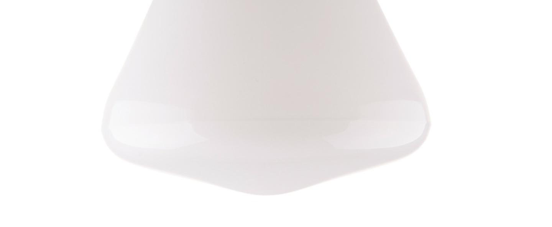 Applique murale de salle de bain ip54 glass 023 blanc o18cm h16cm zangra normal