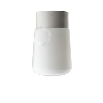 Applique murale de salle de bain lampe etanche glass 017 blanc o10cm h14cm zangra normal