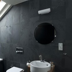 Applique murale de salle de bain verre blanc triplex l28cm h8cm zangra 77947 thumb