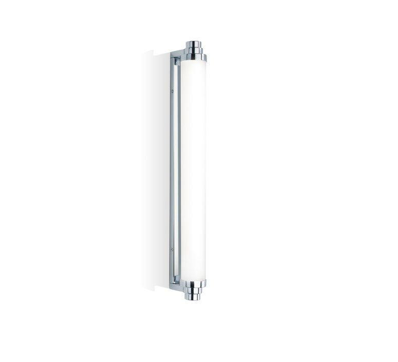Applique murale de salle de bain vienna 60pl chrome led for Decor walther salle de bain