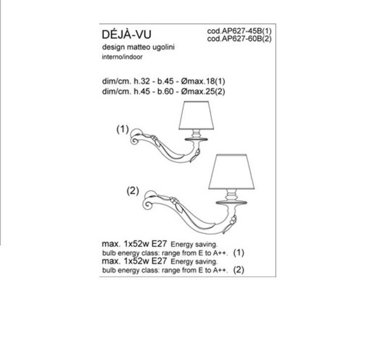 Deja vu matteo ugolini karman ap627 60b luminaire lighting design signed 20197 product