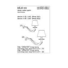 Deja vu matteo ugolini karman ap627 60b luminaire lighting design signed 20197 thumb