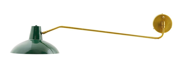 Applique murale desk vert mat o31cm l104cm house doctor normal