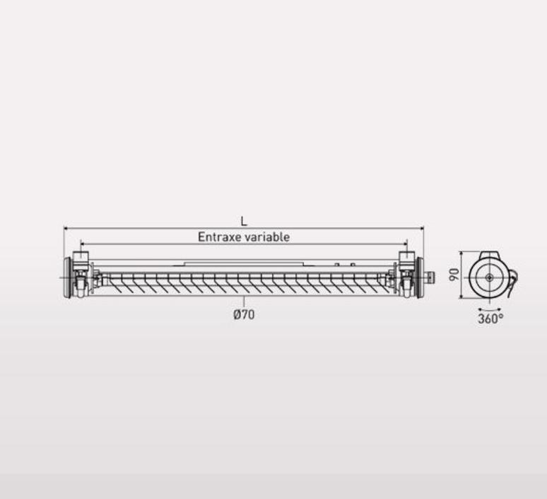 Elgar coal sammode studio applique murale wall light  sammode elgar cp1221  design signed 62407 product