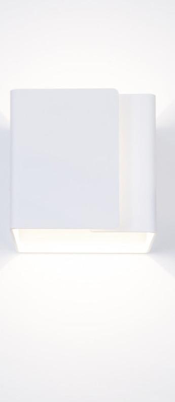 Applique murale ding blanc o12cm h12cm dark normal