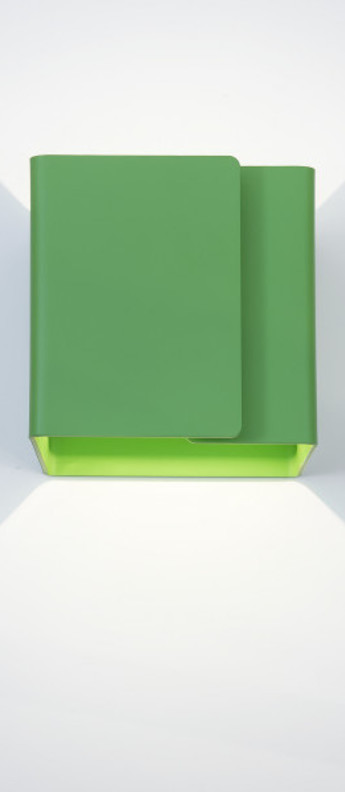 Applique murale ding vert o12cm h12cm dark normal