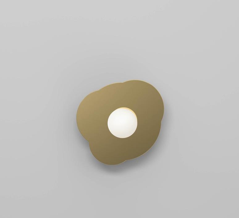 Disc and sphere 501 gwendolyn et guillane kerschbaumer applique murale wall light  atelier areti 501ol w01 br01  design signed nedgis 118524 product