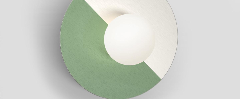 Applique murale disc and sphere vert l23cm h23cm atelier areti 018ce4a3 669d 4be8 b73c c0ecff34e542 normal