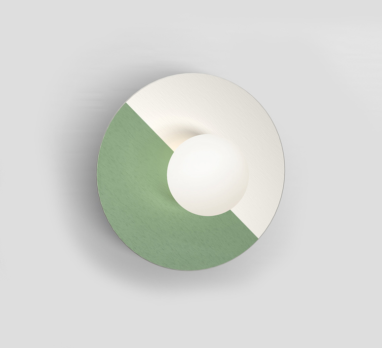 Disc and sphere gwendolyn et guillane kerschbaumer applique murale wall light  atelier areti 460ol w01 ni01   design signed nedgis 73468 product