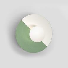 Disc and sphere gwendolyn et guillane kerschbaumer applique murale wall light  atelier areti 460ol w01 ni01   design signed nedgis 73468 thumb