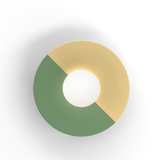Disc and sphere gwendolyn et guillane kerschbaumer applique murale wall light  atelier areti 460ol w01 br02   design signed nedgis 73465 thumb