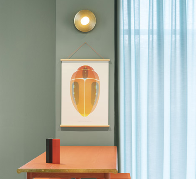 Disc and sphere wall  applique murale wall light  atelier areti disc and sphere wall  design signed 35688 product