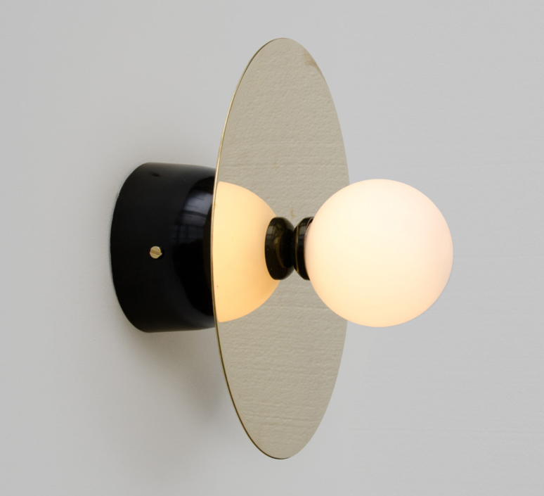 Disc and sphere wall  applique murale wall light  atelier areti disc and sphere wall  design signed 35692 product