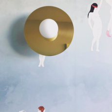 Disc and sphere wall  applique murale wall light  atelier areti disc and sphere wall  design signed 64465 thumb