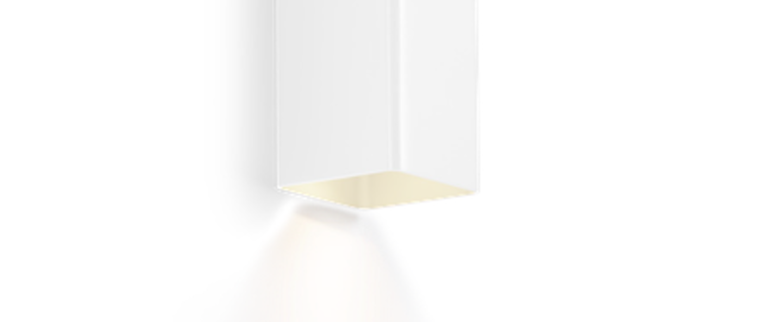 Applique murale docus mini 2 0 blanc l6 7cm h20cm wever ducre normal