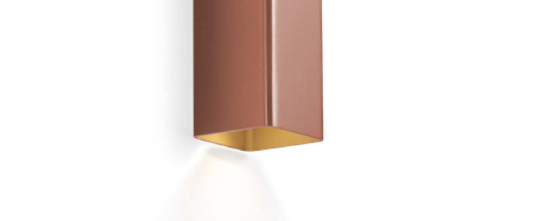 Applique murale docus mini 2 0 cuivre l6 7cm h20cm wever ducre normal