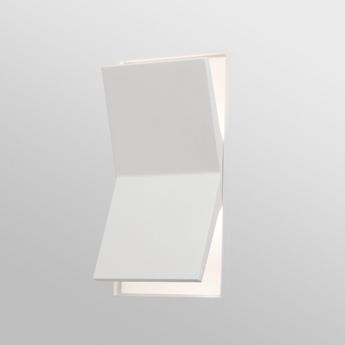 Applique murale domino lampe applique blanc led 2700k 200lm l16cm h26 5cm faro normal