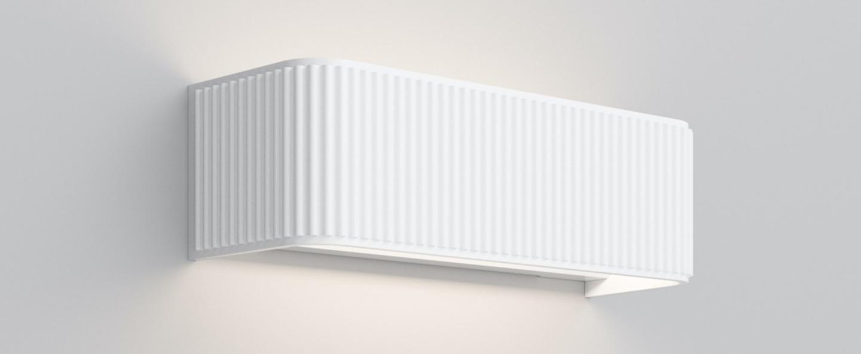Applique murale dresscode w2 blanc mat led 2700k 2360lm l30cm h9cm rotaliana normal