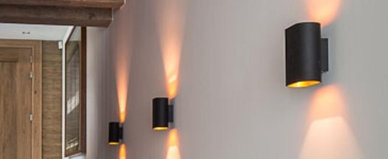 Applique murale duell noir et or led 2700k 534lm l15 2cm h16cm modular normal