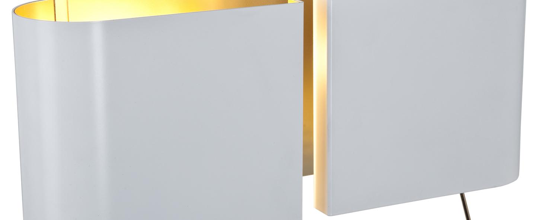 Applique murale duo droite blanc l42 2cm h17cm contardi normal