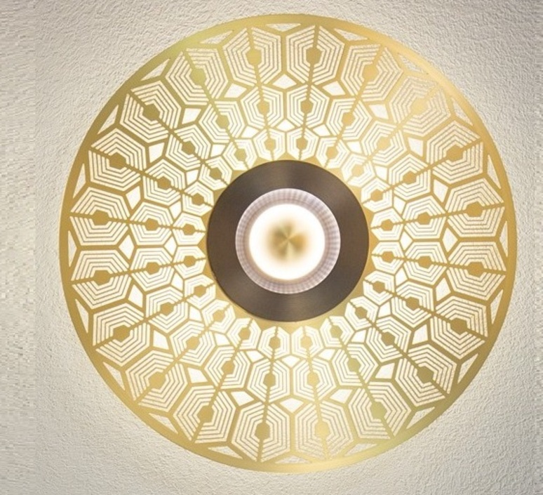 Earth mandala xs  applique murale wall light  cvl earth mandala xs  design signed 99483 product