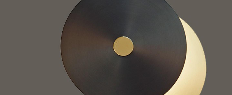 Applique murale eclipse xs laiton led 3000k 1790lm o28cm hcm cvl normal