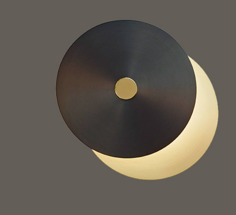 Eclipse xs  applique murale wall light  cvl eclipse xs sb sg  design signed nedgis 66441 product
