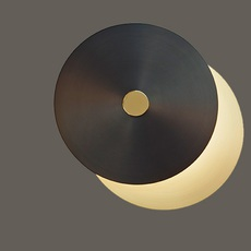 Eclipse xs  applique murale wall light  cvl eclipse xs sb sg  design signed nedgis 66441 thumb