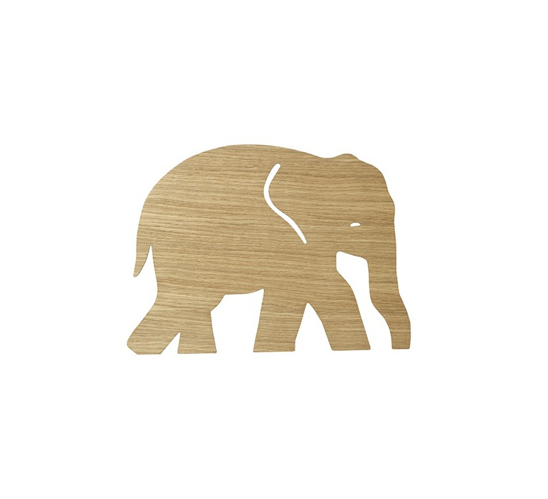 Elephant lamp trine andersen applique murale wall light  ferm living 100050 208  design signed nedgis 64169 product