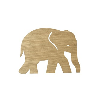 Applique murale elephant lamp chene l35 4cm h26cm ferm living 471c0318 8700 4ce2 97f7 5c3fadaf23a1 normal